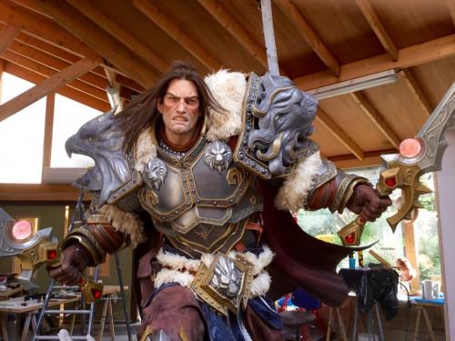 Estatua de Varian: Gamescom 2016