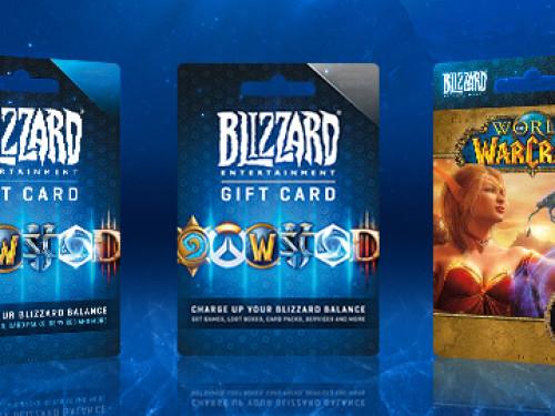 Tarjetas Regalo de Blizzard