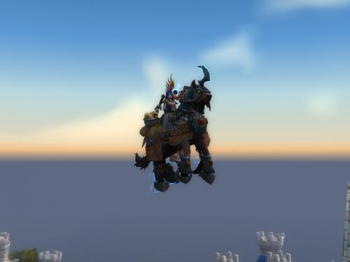 Shadowlands: ¡Las monturas de unicornio podrán volar!