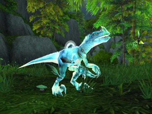 Glifo Raptor Espectral de Chamán
