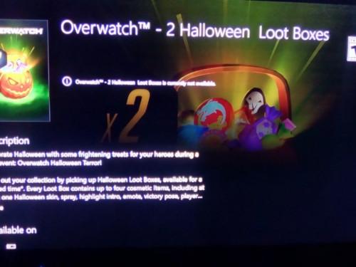Imagen filtrada de las Cajas de Botín de Halloween