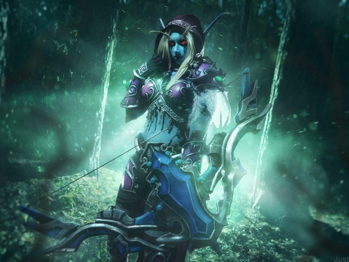 Cosplay Sylvanas: Narga Lifestream