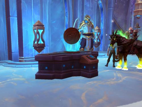 WeakAura de ayuda para la Mesa de Mando de Shadowlands