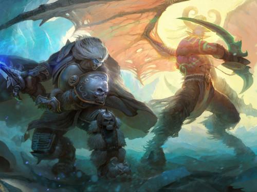Machinima: Arthas vs Illidan Remastered