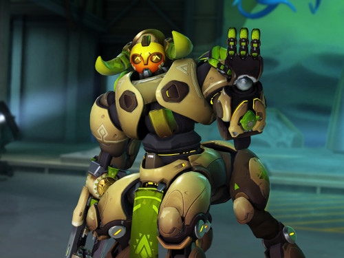¡Orisa ya disponible en el Modo Competitivo!