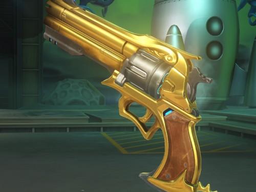 Armas Doradas en Overwatch