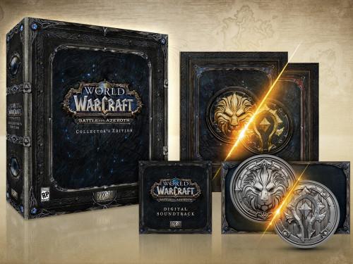 Battle for Azeroth Collector's Edition disponible en la Blizzard Gear Store (US)