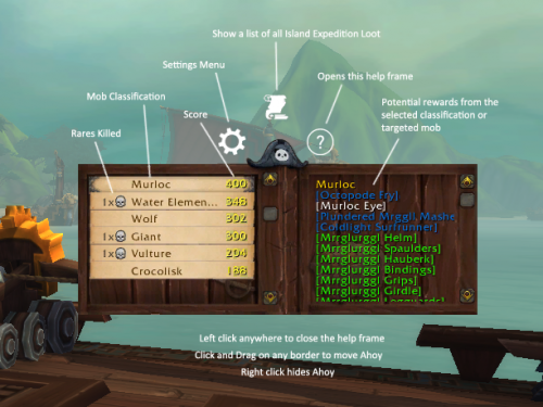 Guía de Addons: Ahoy! Island Expedition Helper