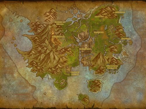 Battle for Azeroth: Mapas de las Zonas de Kul Tiras y Zandalar