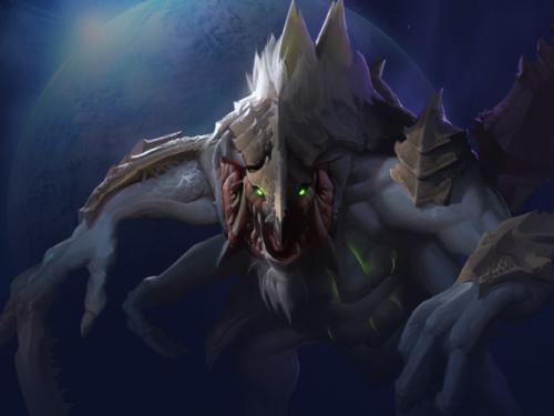 Comandante Starcraft II: Dehaka