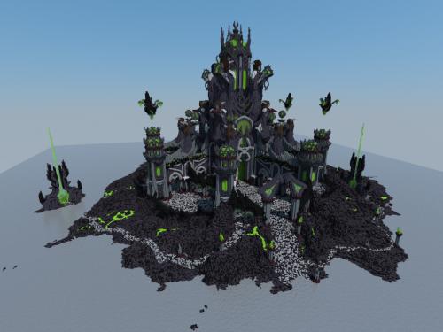¡Tumba de Sargeras recreada en Minecraft!