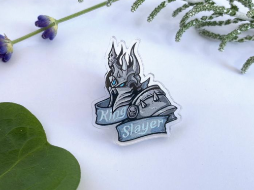 Merchandising inspirado en Blizzard realizado por Frenone