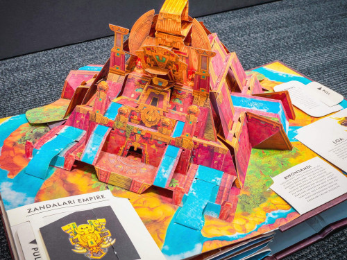 ¡Conoce el World of Warcraft Pop-Up Book!
