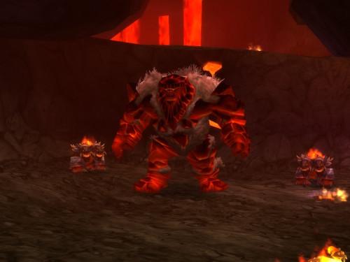 Guia de Banda Núcleo de Magma: Golemagg el Incinerador
