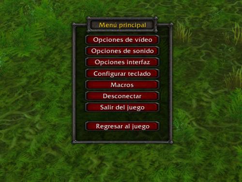Regreso a la Classic: Opciones de Vídeo, Sonido e Interfaz