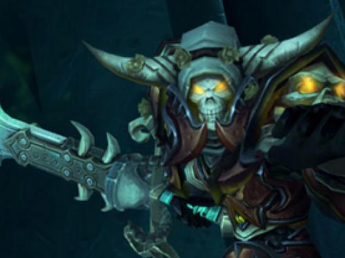 Armas de Artefacto - Caballero de la Muerte