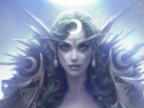 Elune, Lore de Warcraft - Historias de Azeroth