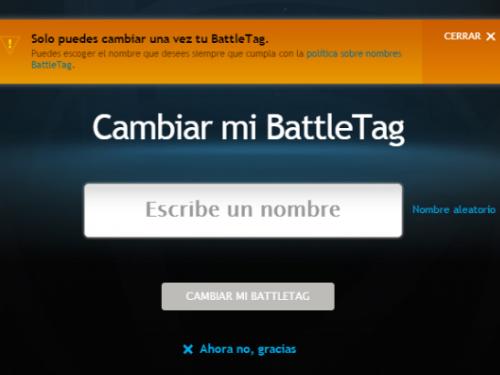 Actualización de BattleTag