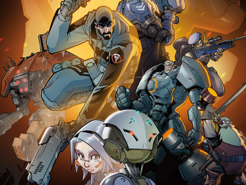 Novela Gráfica y Libro de Arte sobre Overwatch