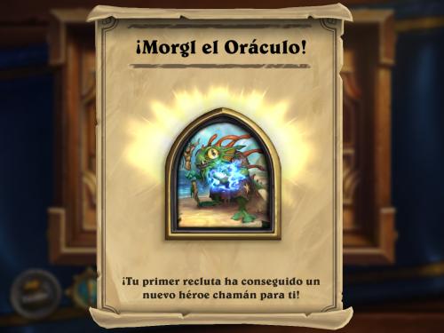 Como conseguir a Morgl el Oráculo