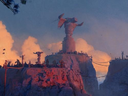 Capitales de World of Warcraft creadas por Lionel Schramm