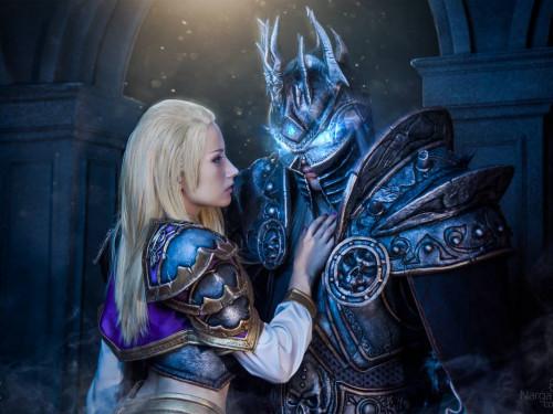 Cosplay Arthas y Jaina: Narga y Aoki