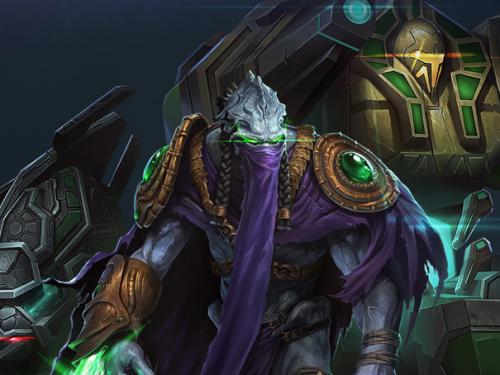 Comandante Starcraft II: Zeratul