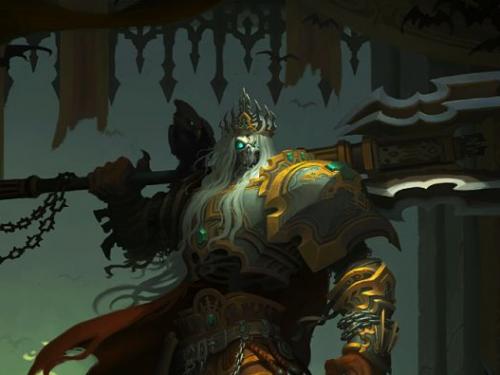 Personajes de Diablo: Rey Leoric