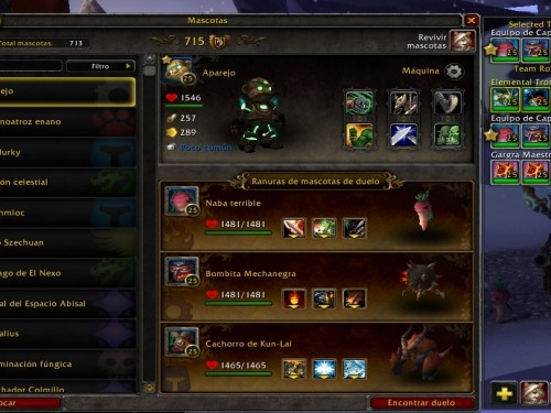 PetBattle Team - Addons de WoW