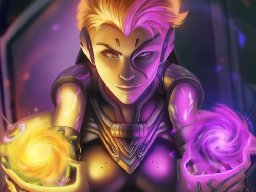 Fan Arts Overwatch: Especial Moira