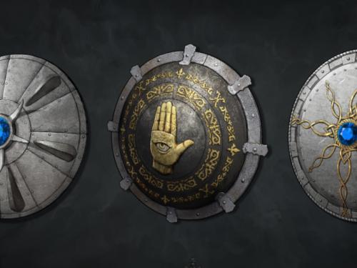 Modelos y Arte conceptual de armas de Diablo II Resurrected por Pixel Mafia