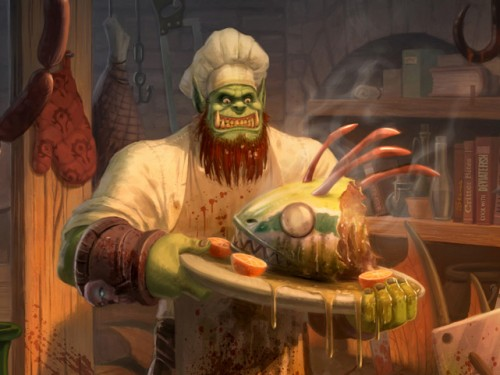 Libro oficial de cocina warcraft alter time for Cocina wow legion
