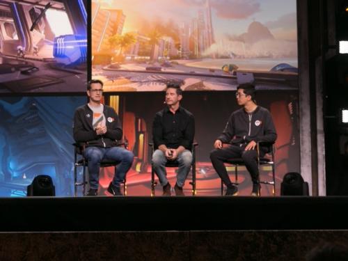 Una marcha más: resumen de la mesa redonda de «La evolución del arte de Overwatch»