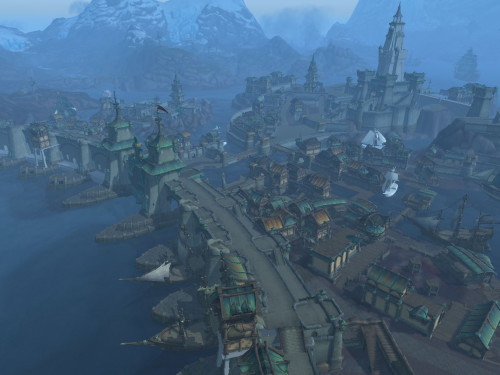 Boralus: Capital de la Alianza en Battle for Azeroth