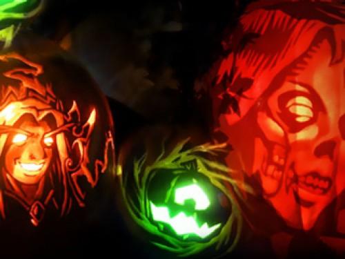 Concurso de talla de calabazas de Halloween 2015