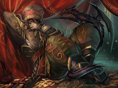 Wrathion: Duelo de Mascota