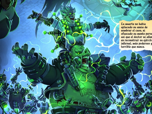 «El Retorno de Junkenstein», Una Historia de Overwatch