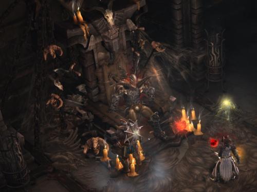 Zonas de Diablo: El Trono Inmortal