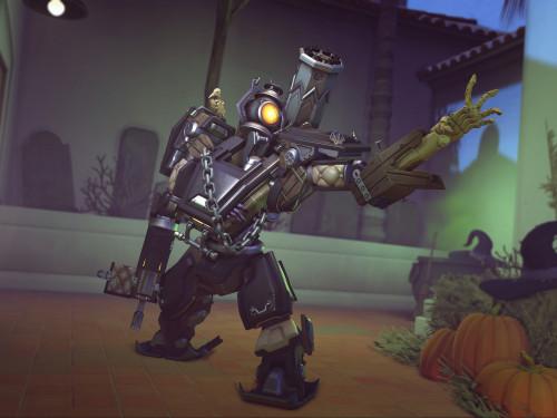 Una mezcla monstruosa: Los últimos aspectos de Halloween Terrorífico de Overwatch