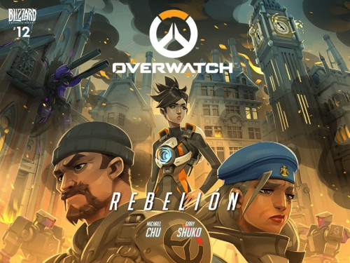 Cómic de Overwatch: Rebelión