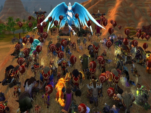 "Roger ""Ralff"" White: Memorial en World of Warcraft"