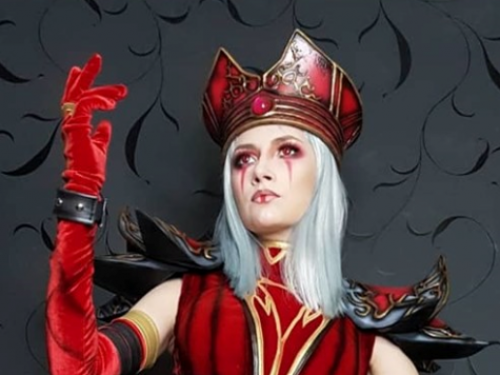 Cosplay Alta Inquisidora Melenablanca​: Narga Lifestream​