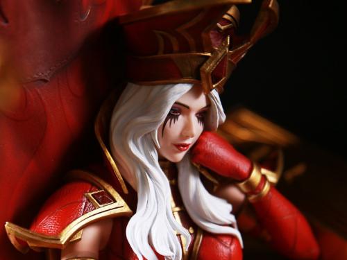 Impresionante figura de Sally Melenablanca creada por Mayflies Studio