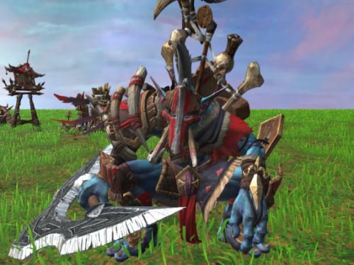 Comparativa Unidades Orcos entre Warcraft III y Warcraft III Reforged