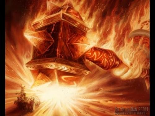 Sulfuras, Mano de Ragnaros