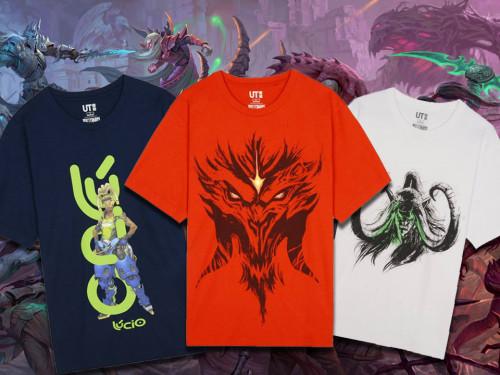Uniqlo: Camisetas a la Venta de World of Warcraft