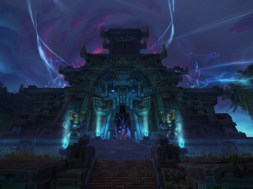 Gameplay en Battle for Azeroth: Nazmir