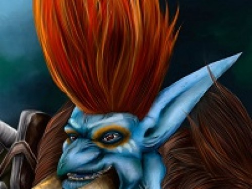 Speed Painting: Troll World of Warcraft