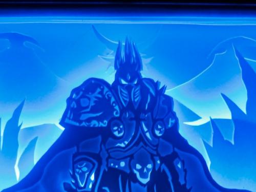 Cuadro de luz de Arthas Menethil creado por Your Light