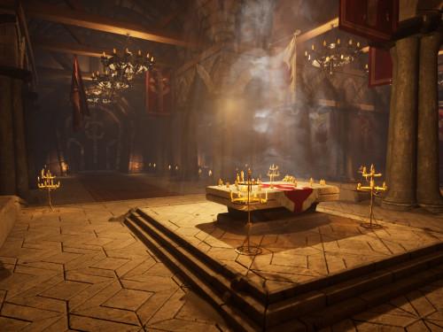 ¡Recreación del Monasterio Escarlata en Unreal Engine 4!